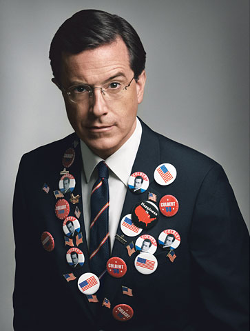 stephen colbert wife. GQ names Stephen Colbert