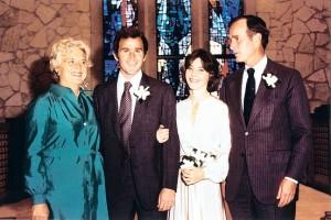 Laura Welch married Geroge W. Bush